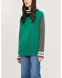 &Daughter - Striped Wool Jumper - Lyst
