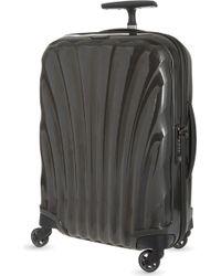 Samsonite Black Cosmolite Four-wheel Cabin Suitcase