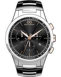 88 Rue Du Rhone 87wa154303 Stainless Steel Bracelet Watch - Black