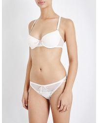 Passionata - Miss Coquette Sexy Mesh Underwired T-shirt Bra - Lyst