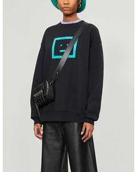 Acne Studios Black Check Motif Sweatshirt