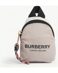 Burberry Mini Backpack Bag Charm - Pink