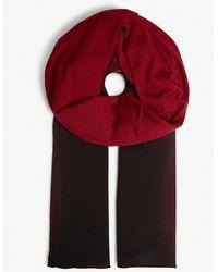 Isabel Benenato - Tie-dye Wool Scarf - Lyst
