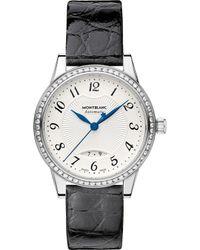 Montblanc - 111057 Boheme Stainless Steel Diamond Watch - Lyst