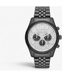 Michael Kors - Mk8605 Lexington Stainless Steel Watch - Lyst