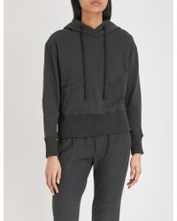 James Perse - Vintage Cotton-jersey Hoody - Lyst