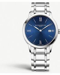 Baume & Mercier Stainless Steel Watch - Metallic
