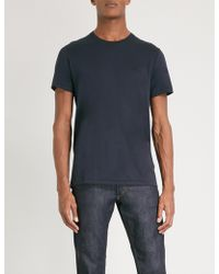 Burberry - Joeforth Cotton-jersey T-shirt - Lyst