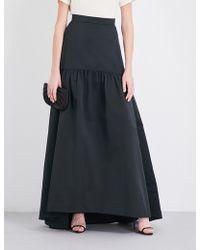 Max Mara Elegante - Gallico Woven Maxi Skirt - Lyst