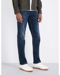 Citizens of Humanity Bowery Slim-fit Straight Jeans - Blue