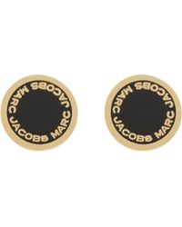 Marc Jacobs - Logo Stud Earrings - Lyst