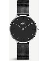 Daniel Wellington Classic Ashfield Petite Stainless Steel Watch 32mm - Black