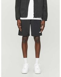 The North Face Logo-embroidered Shell Shorts - Black