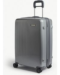 Briggs & Riley Sympatico Medium Expandable Four-wheel Suitcase 68.5cm - Metallic