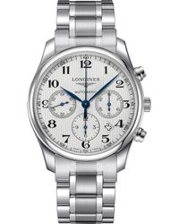 Longines - L2.759.4.78.6 Master Collection Stainless Steel Watch - Lyst