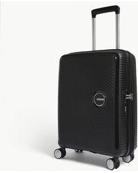 American Tourister - Soundbox Expandable Four-wheel Cabin Suitcase 55cm - Lyst