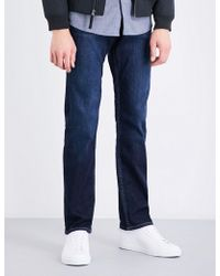 7 For All Mankind - New York Regular-fit Tapered Jeans - Lyst
