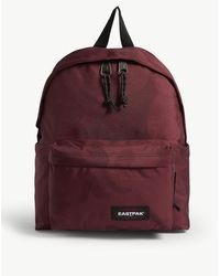 Eastpak Camouflage Padded Pak'r Backpack - Red