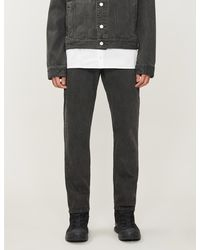 A_COLD_WALL* Faded Tapered Jeans - Black