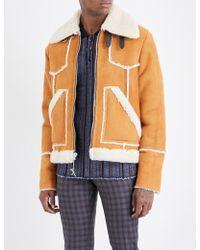 COACH Lumber Shearling Jacket - Multicolour