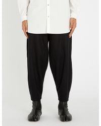 Toogood - The Acrobat Dropped-crotch Regular-fit Wide Wool And Cashmere-blend Trousers - Lyst