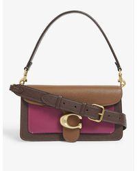 COACH - Tabby Leather Shoulder Bag - Lyst