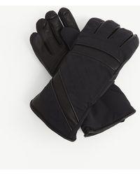 Toni Sailer Alek Leather Ski Gloves - Black