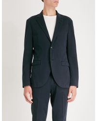 Tiger Of Sweden - Lamonte Tailored-fit Cotton Jacket - Lyst