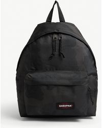 Eastpak Camouflage Padded Pak'r Backpack - Black