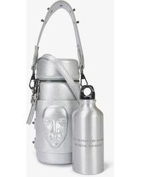 Ganor Dominic Face-embossed Deadstock-leather Bucket Bag - Multicolour