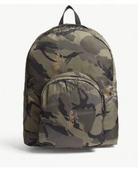Alexander McQueen - Dancing Skeleton Camouflage Nylon Backpack - Lyst