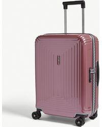 Samsonite Neopulse Spinner Four-wheel Suitcase 55cm - Pink