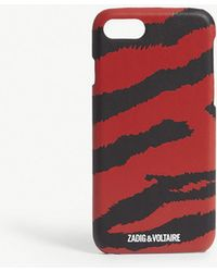 zadig and voltaire Rouge Big Tiger Iphone Case