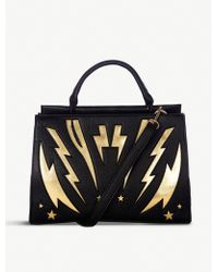 Skinnydip London - Bolt Textured Faux-leather Tote Bag - Lyst