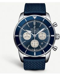 Breitling - Ab0162121b1s1 Superocean Heritage Ii B01 Chronograph 44 Stainless Steel Watch - Lyst