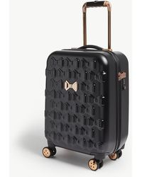 Ted Baker Beau Four-wheel Cabin Suitcase 54cm - Black