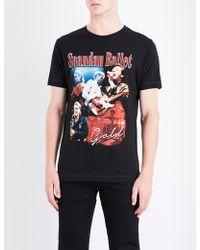 Tribute Collection - Spandau Ballet-print Cotton-jersey T-shirt - Lyst