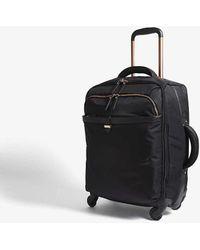 Lipault Originale Plume Four-wheel Cabin Suitcase 55cm - Black
