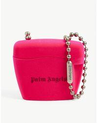 Palm Angels Padlock Mini Plastic Cross-body Bag Online - Pink