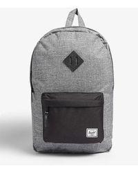 Herschel Supply Co. Hertiage Canvas Backpack - Black