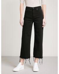 Nobody Denim - Milla Wide-leg High-rise Jeans - Lyst