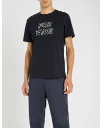 A.P.C. - Forever Cotton-jersey T-shirt - Lyst