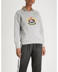 Burberry - Ravi Cotton-blend Sweatshirt - Lyst