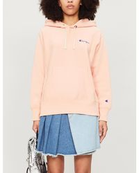 Champion Logo-embroidered Cotton-jersey Hoody - Multicolour