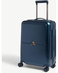 Delsey Night Blue Turenne Four Wheel Suitcase