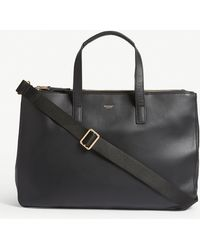 Knomo Mayfair Derby Tote Bag - Black