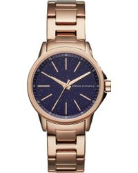 Armani Exchange - Ax4352 Lady Banks Rose Gold-tone Watch - Lyst