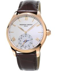 Frederique Constant - Fc-285v5b4 Horological Smartwatch Stainless Steel Watch - Lyst
