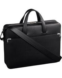 Cartier - Must De Calfskin International Wallet - Lyst