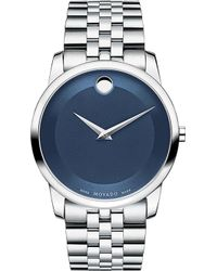 Movado - 0606982 Museum Classic Stainless Steel Watch - Lyst